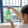 Lumifre Powder Coating Garden Decorative Star Pattern Antique ABS hurricane lantern