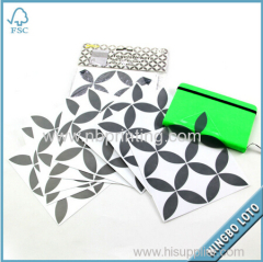 Strong Production Capacity OEM Available Art Mirror Sticker