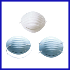 Disposable dust mask cup style different color