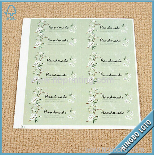 Professional Manufacturer Supply Custom Adhesive Sticker