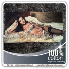 2015 hot sales designer beach towel