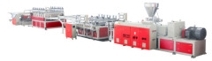 Wood PVC Foam Sheet Production Line