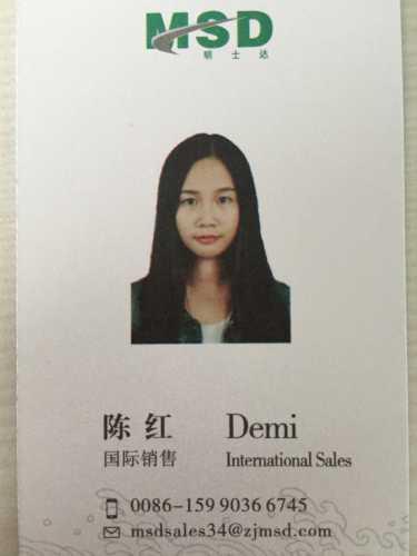 Ms. Demi Chen