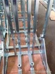 zinc plating and galvanizing weldment