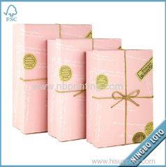 Best Price Custom Gift Box Packing