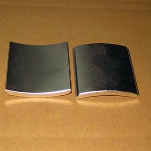 High quality Arc Neodymium magnet for generators