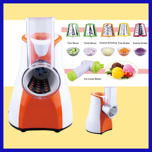 3 in 1 Multi function salad maker with ice cream maker and slicer for home use