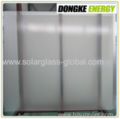 Tempered solar coating glass 3.2mm