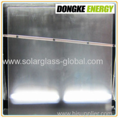 3.2mm textured solar panel coating glass