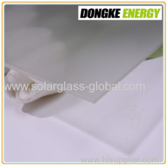3.2mm tempered products solar panel coating glass
