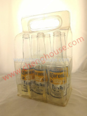 Six Packs Rectangular Hand Carry Gel Beer Tote Bottle Gift Bag Beer Packaging