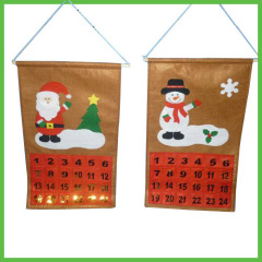 Christmas Countdown Hanging Calendars with pockets