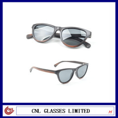 New Product Top Simple Classical Design Wood Wayfarer Sunglasses For Sale
