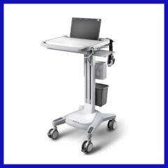 Multifunction medical computer cart