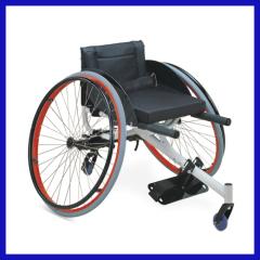 Lightweight Aluminum Foldable Sport Wheel chair