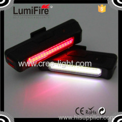 Lumifire S630 Super Bright bicycle Rechargeable LED USB Bike Light COB technology bicycle tail light