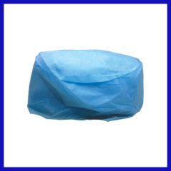 disposalbe cap doctor blue with elastic