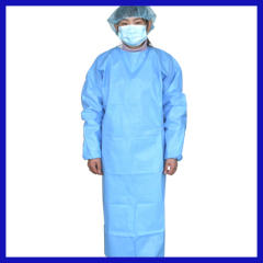 SMS disposable surgical gown blue