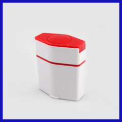 medical pill crusher with storage