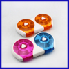 Pill Case Transparent Plastic Compartment Storage Box
