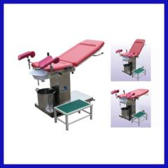 Manual flushing indagation bed