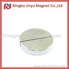 Half round ndfeb n35 neodymium magnet for sale