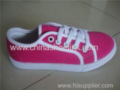 Basic child canvas shoes style