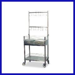 Stainless steel infusion vehicle