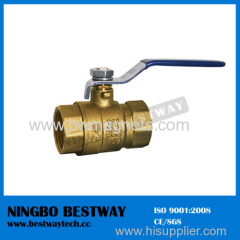 lead free NPT brass ball valve