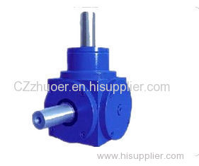 Blue HD Series Spiral Bevel Gearbox Small Speed Reducer Gearbox
