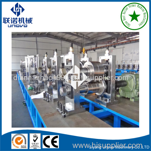 made in China metal door frame safety door frame production line