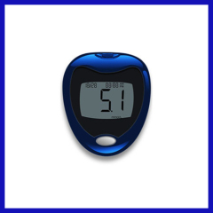 Portable glucose meter no strips