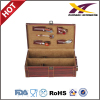 High qualiy leather Wine case with 5pcs tools