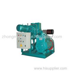 JZJX Roots rotary vane vacuum unit
