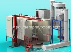 Powder coating Spray Booths/Powder Booths