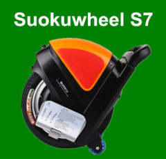Suokuwheel S7 mobility scooters with Pull rod 14Inch tire motorized seatless unicycle