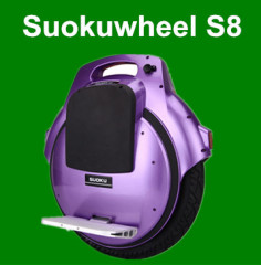 Suokuwheel S8 uno electric unicycle with 16inch tire battery operated unicycle