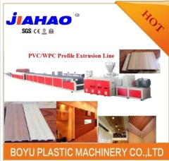 PVC WPC wall panel production line