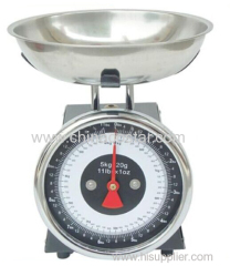 Small dial kitchen food scale commercial scale