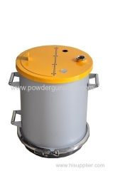 OptiFlex Fluidized powder hopper/fluid container