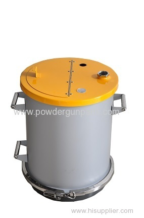 50 Liter Powder Coating Hoppers/Fluidbehalter