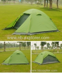 Ripstop 210T fabrics backpacking tent