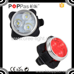 2015NEW arrival POPPAS S620 High Brightness LED Tail light USB Bicycle Light