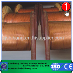 copper cable bonded ground wire