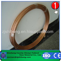 Best Price PVC Copper Bonded Steel Cable