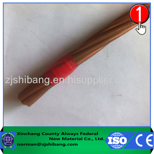 Copper stranded wire of grounding electrode system