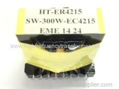 De alta frecuencia ec / ee / ei / pq transformador otros tipos como ER EPC POT y RM también están disponibles