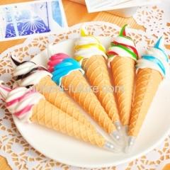 cute ice cream shaped ball pen