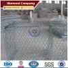 Galfan Coating Gabion Basket for Retaining Wall