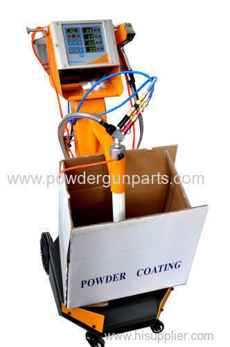 Manual powder coating gun equipment for any powder